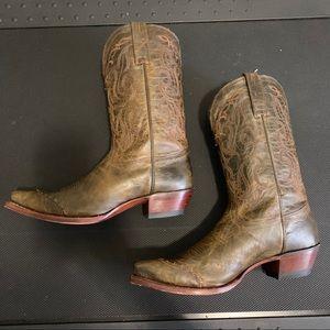 Tony Lama WesternCowboy Boots VF6009 100% Vaquero